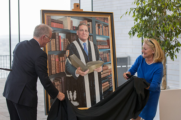 Dr. Daniel Woolf, Unveiled at Queen's University